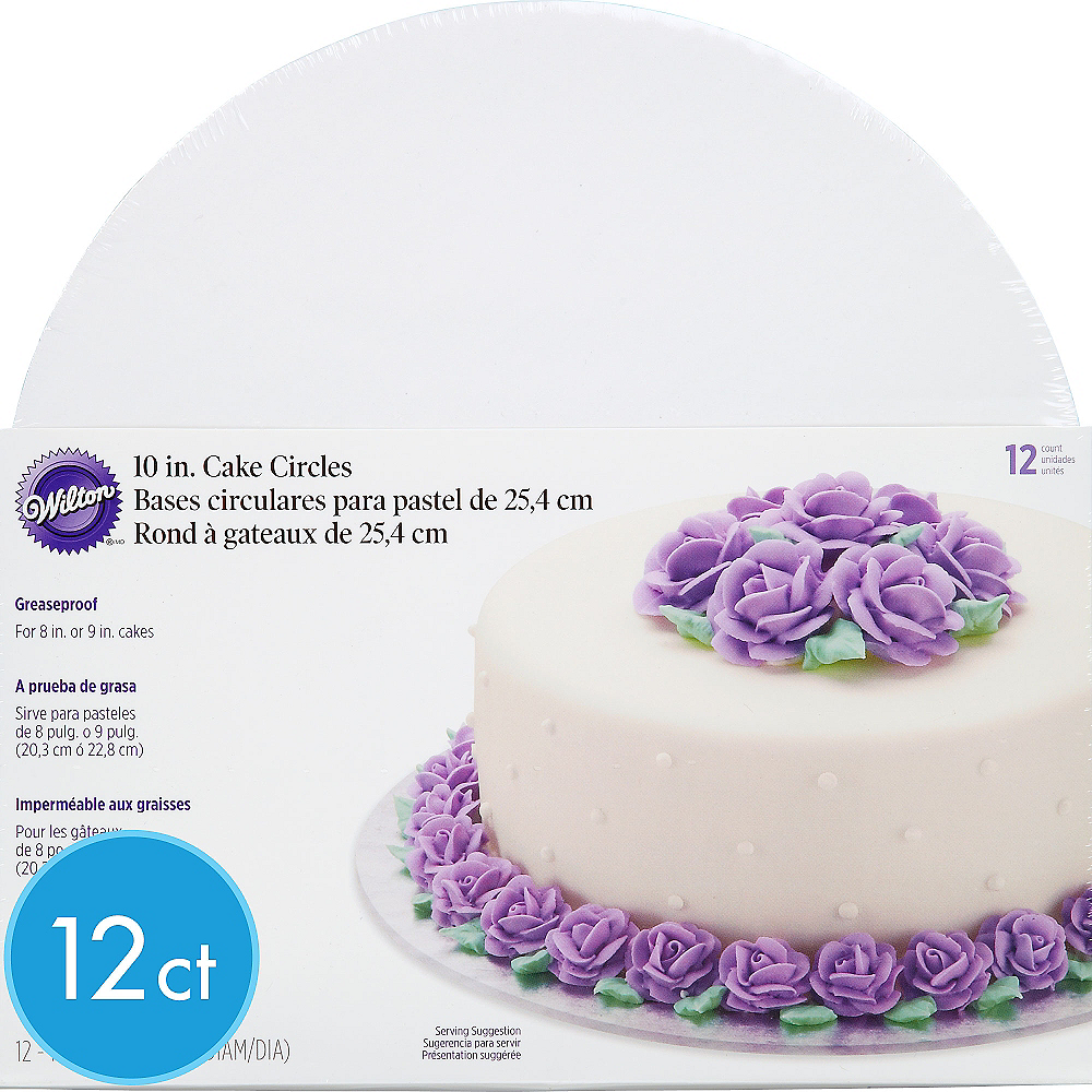 Wilton White Cake Boards 12ct Image #1