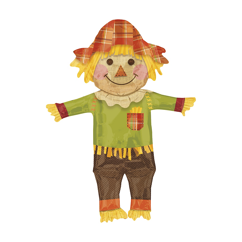 Giant Scarecrow Thanksgiving Balloon, 27in Image #1