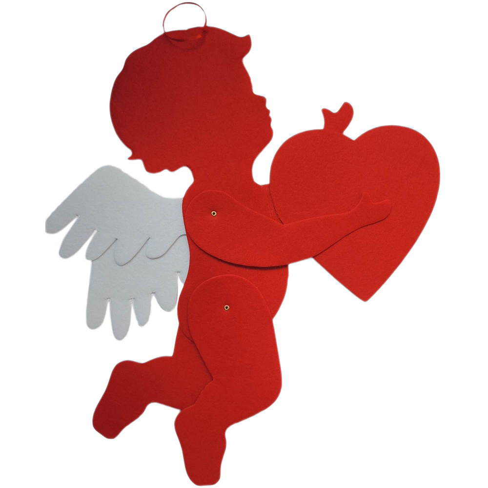 Red Hearts Valentine's Day Decorating Kit Image #2
