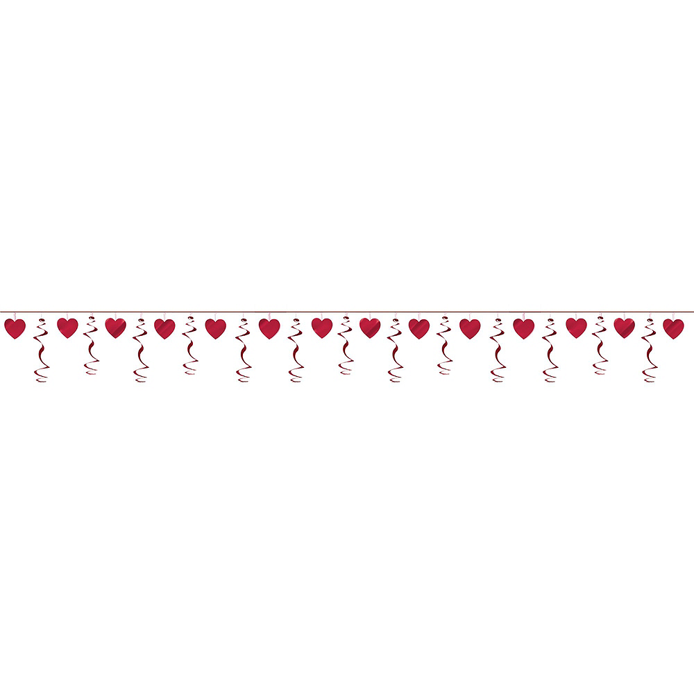 Red Hearts Valentine's Day Decorating Kit Image #3