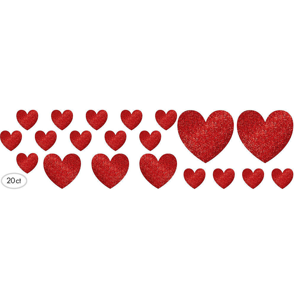 Red Hearts Valentine's Day Decorating Kit Image #5