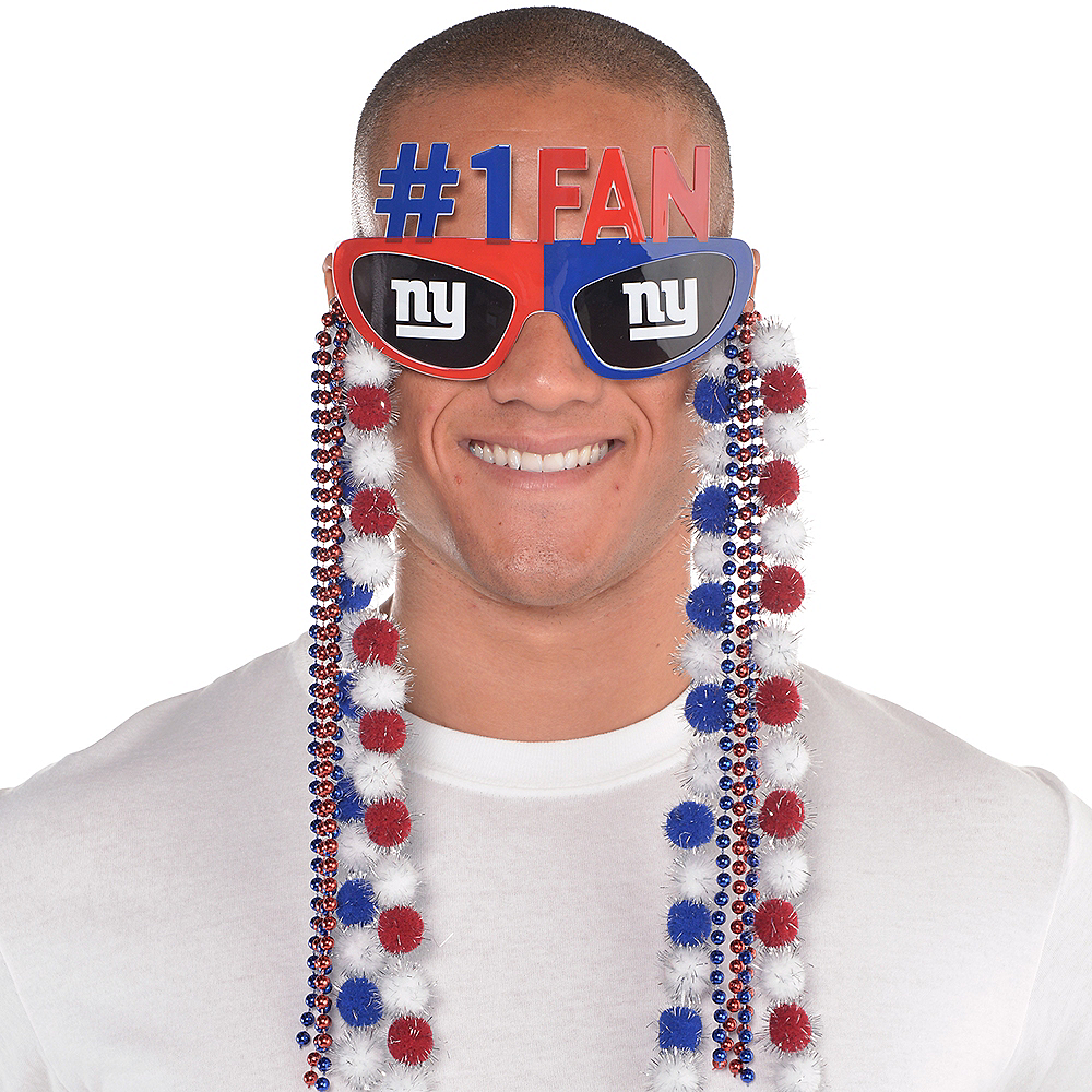 New York Giants Sunglasses With Pom-Poms Image #2