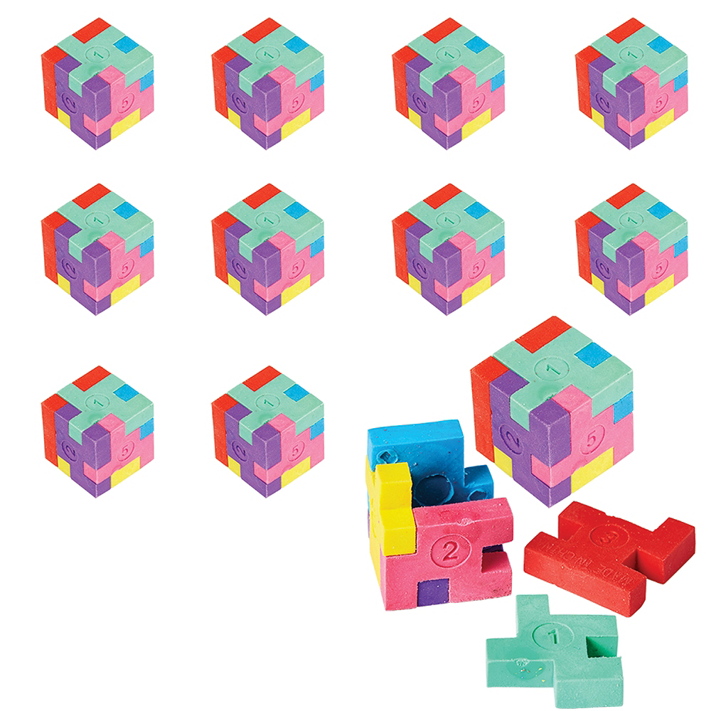 Nav Item for Puzzle Erasers 48ct Image #1