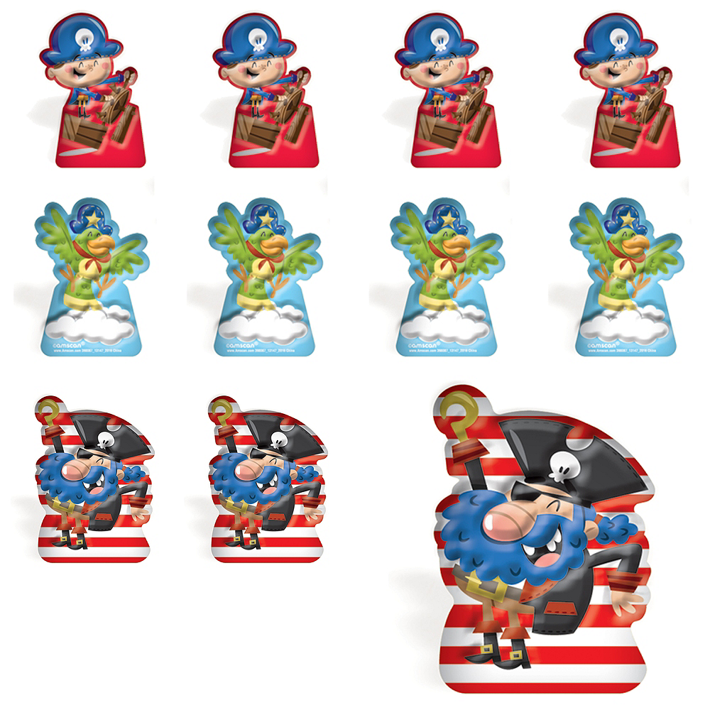 Pirate Finger Puppets 48ct Image #1
