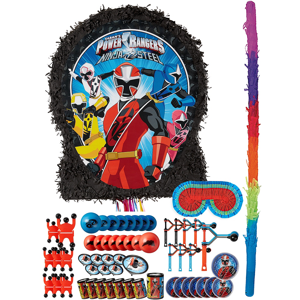 Power Rangers Pinata Kit with Favors Image #1