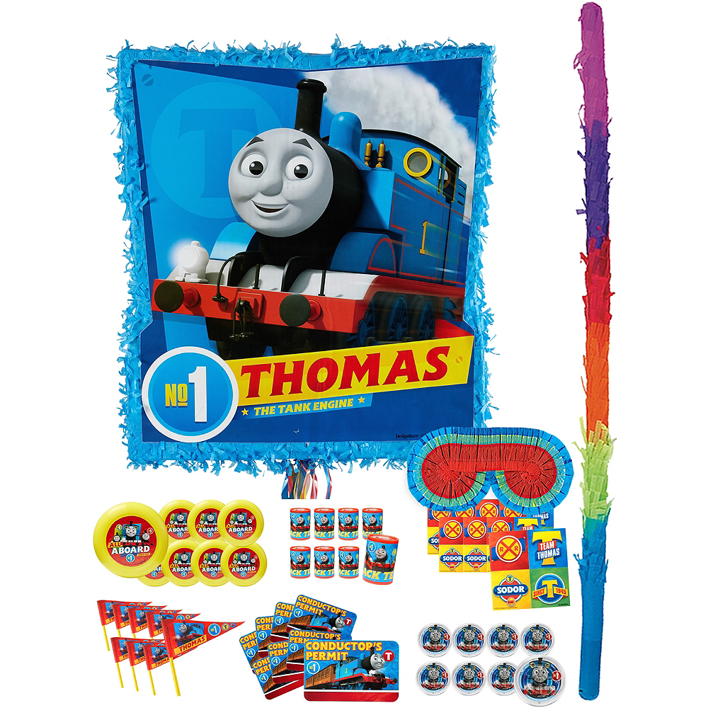 Thomas the Tank Engine Pinata Kit with Favors Image #1
