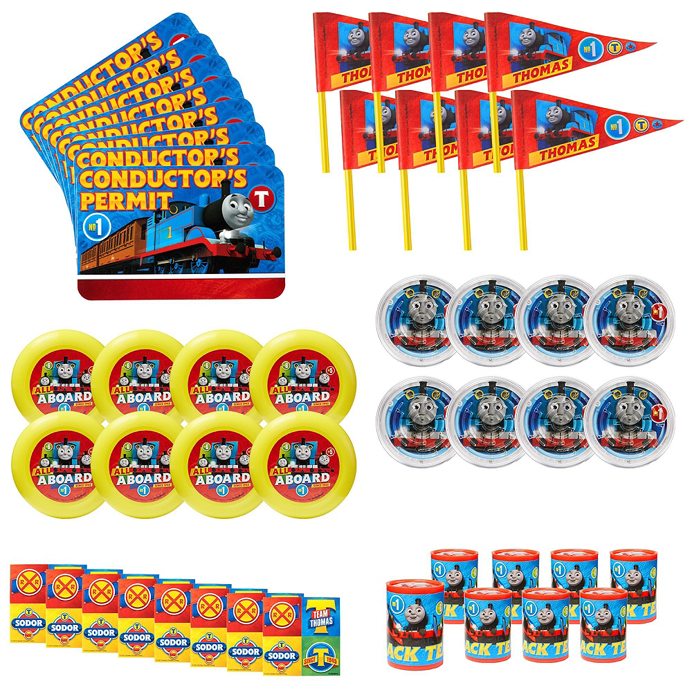 Nav Item for Thomas the Tank Engine Pinata Kit with Favors Image #4