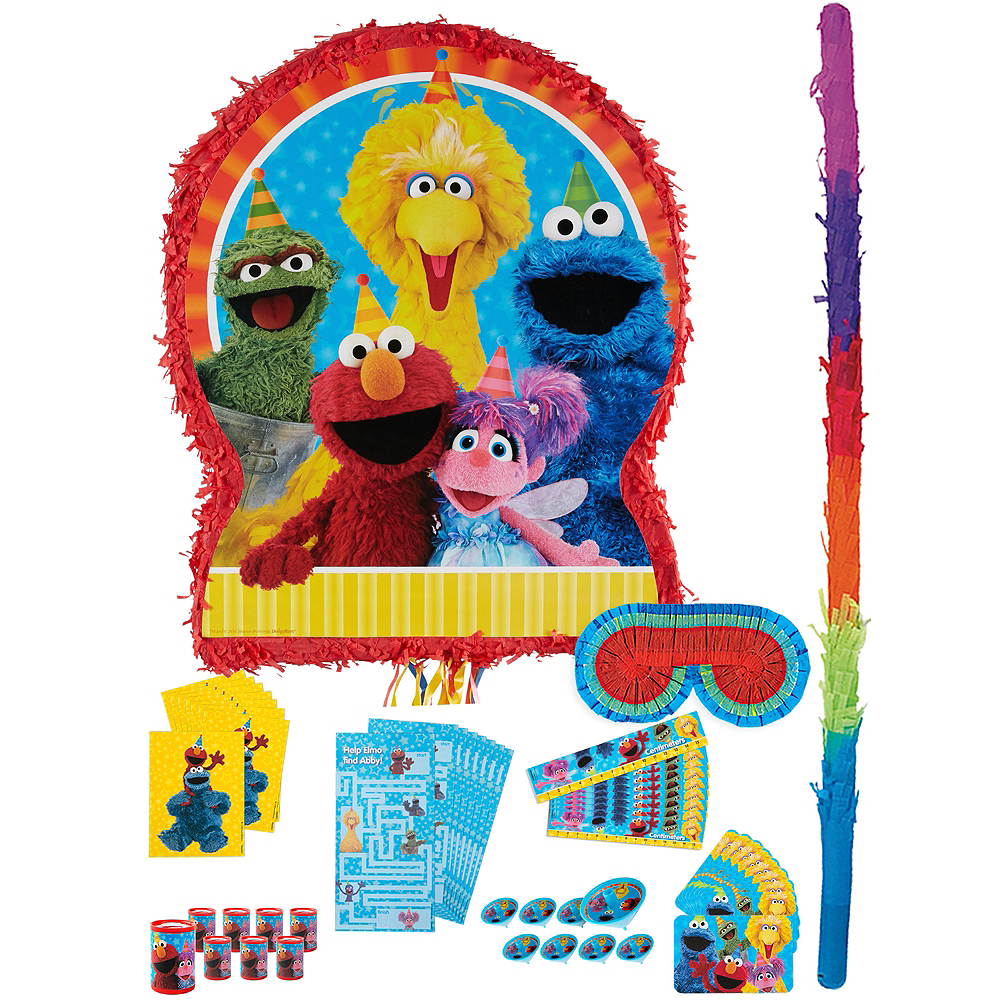 Sesame Street Pinata Kit with Favors Image #1