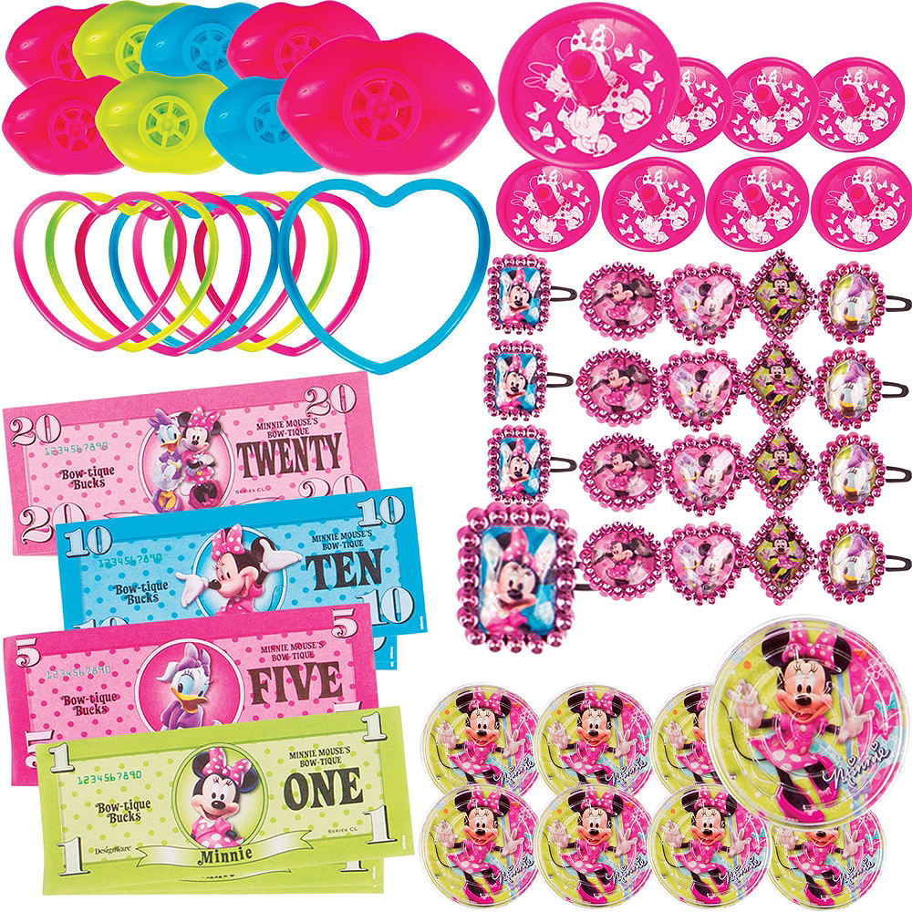1st Birthday Minnie Mouse Pinata Kit with Favors Image #4