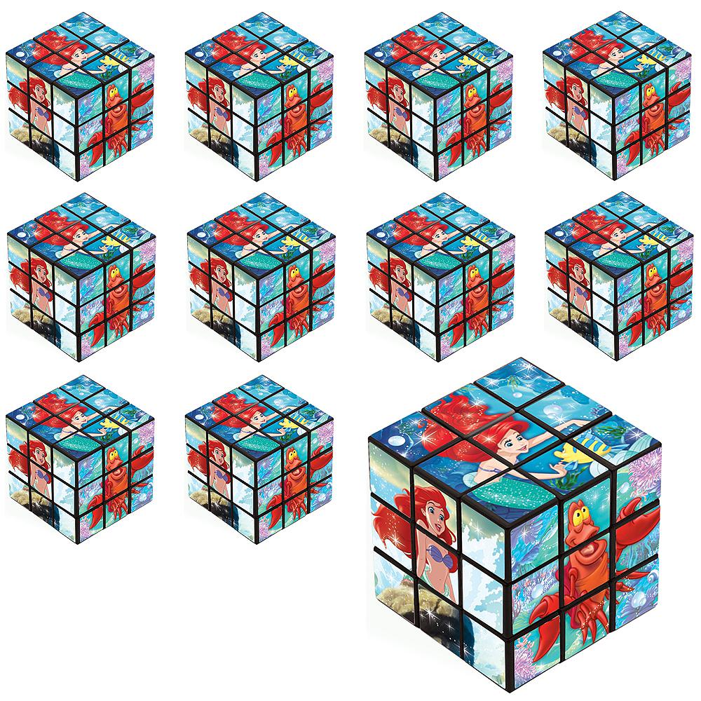 Little Mermaid Puzzle Cubes 24ct Image #1