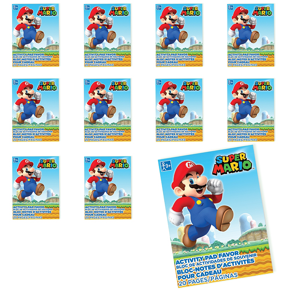 Super Mario Coloring Books 48ct Image #1