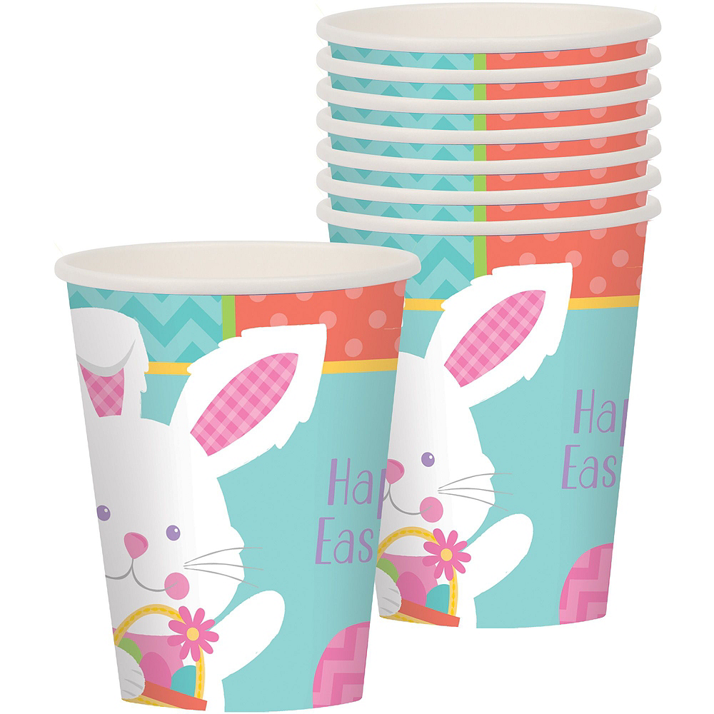 Nav Item for Hippity Hop Easter Bunny Tableware Kit for 16 Guests Image #8