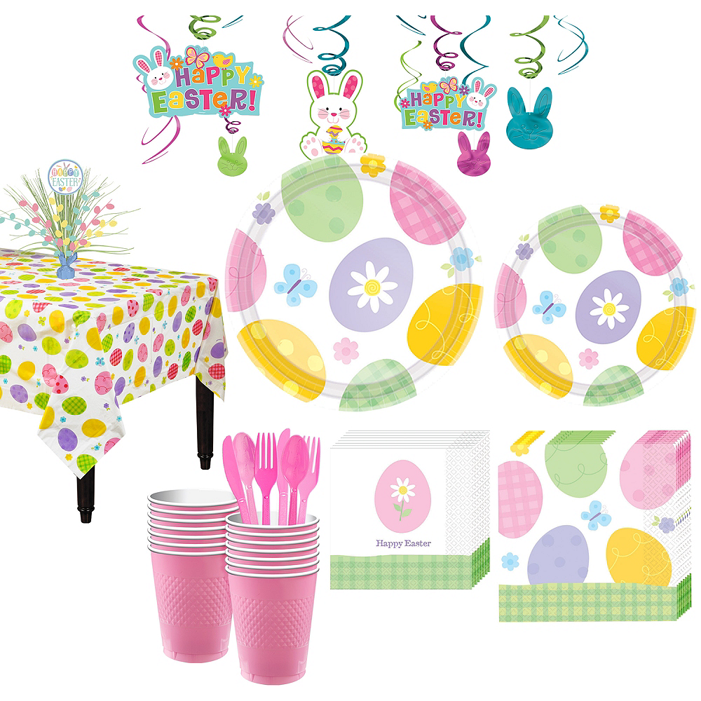 Eggstravaganza Tableware Kit for 16 Guests Image #1