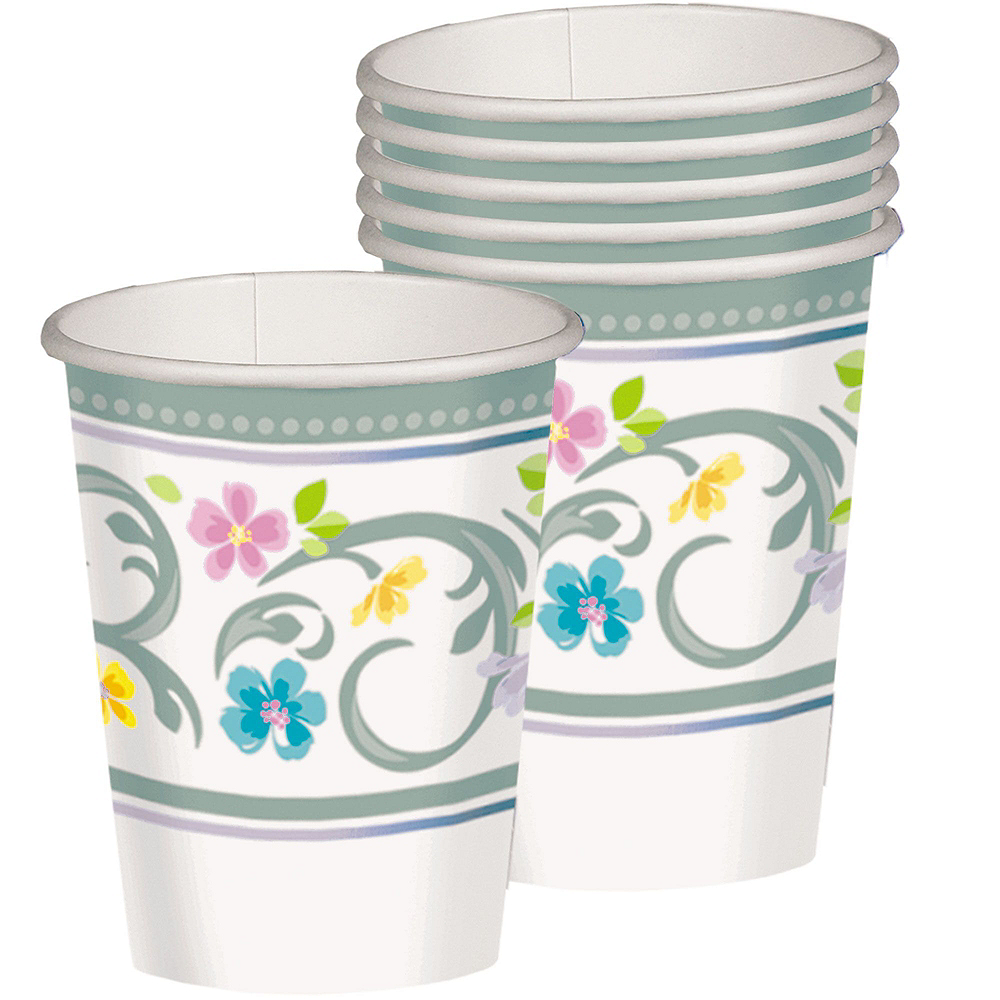 Blessed Day Religious Tableware Kit for 18 Guests Image #5