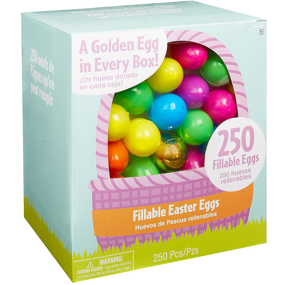 Fillable Easter Eggs 1000ct Image #1