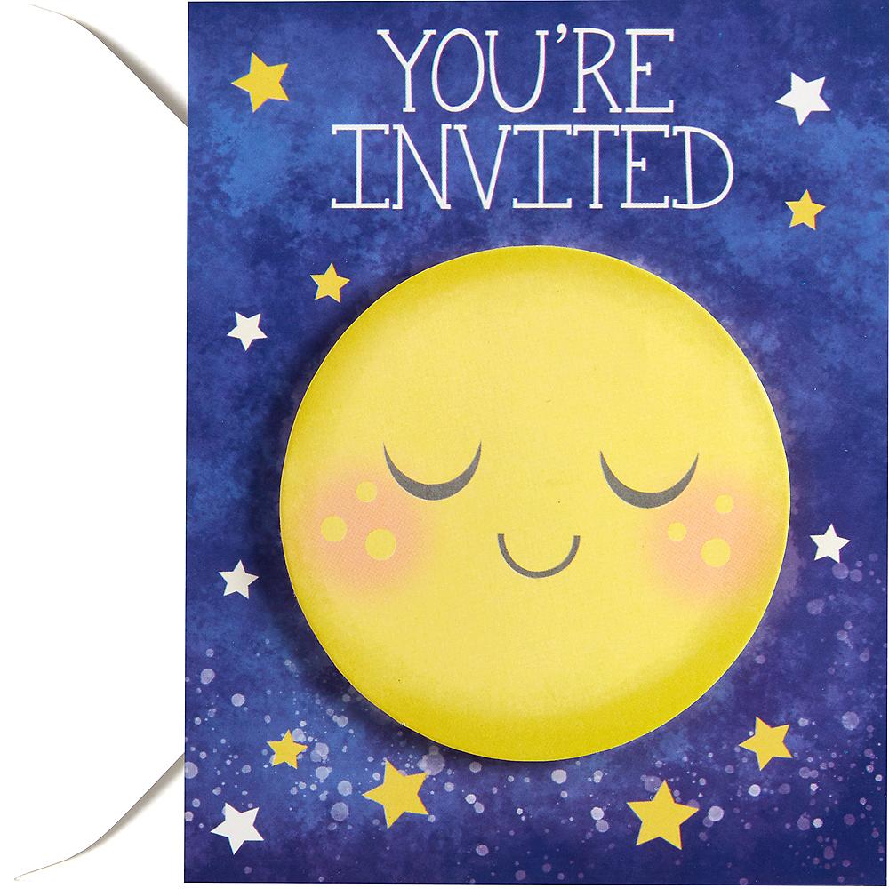 Moon & Stars Invitations 8ct Image #1