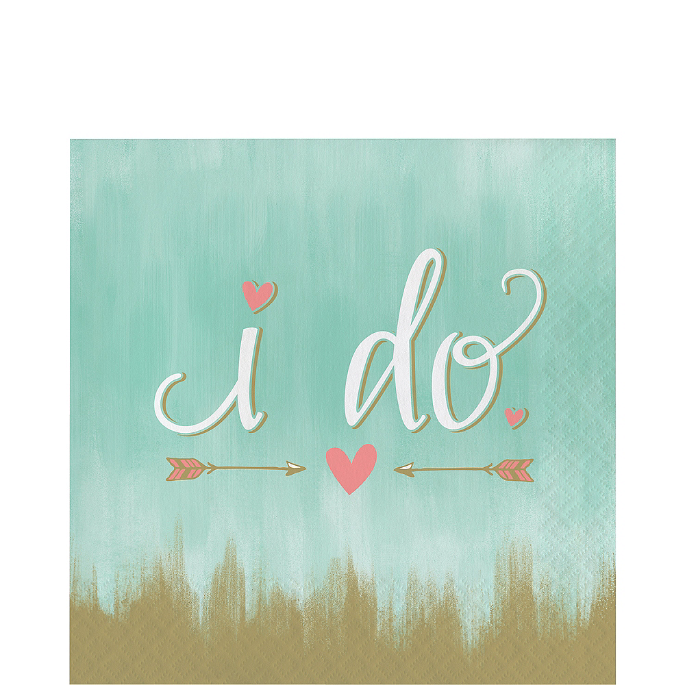 Mint to Be I Do Lunch Napkins 16ct Image #1