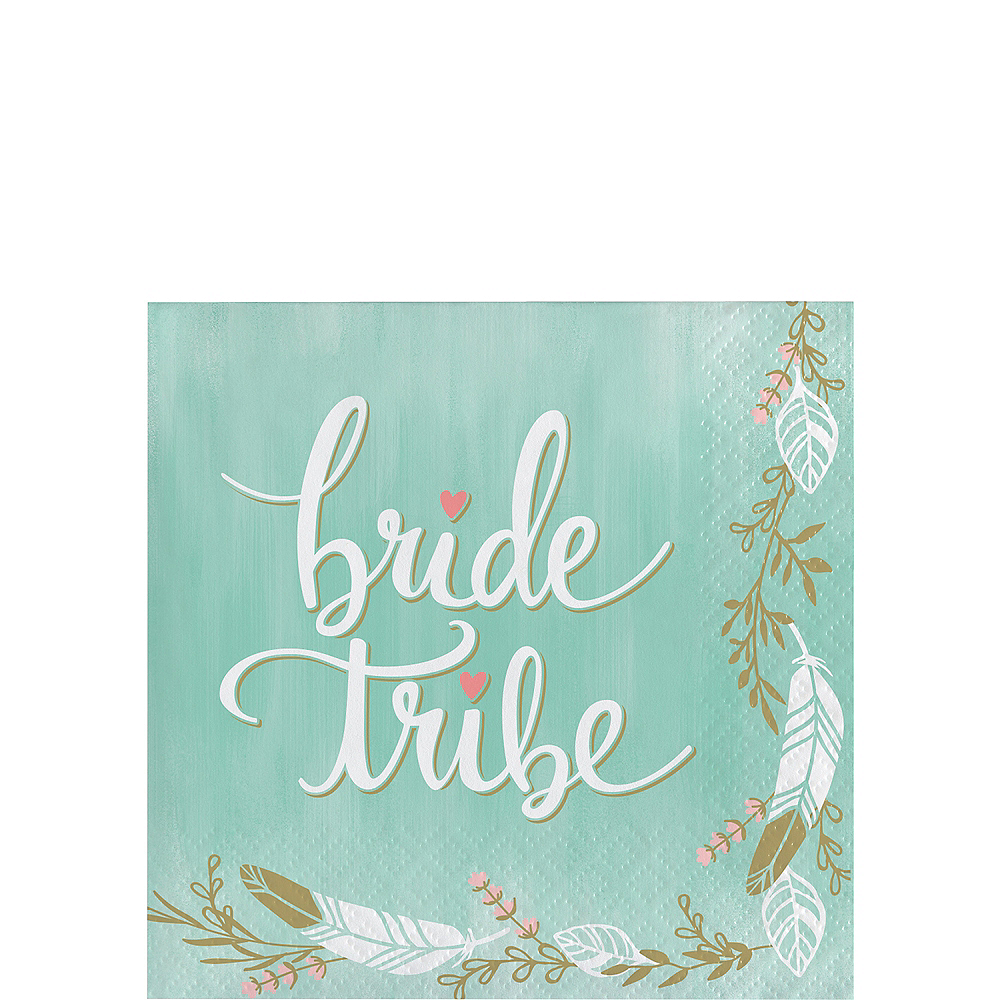 Mint to Be Bride Tribe Beverage Napkins 16ct Image #1
