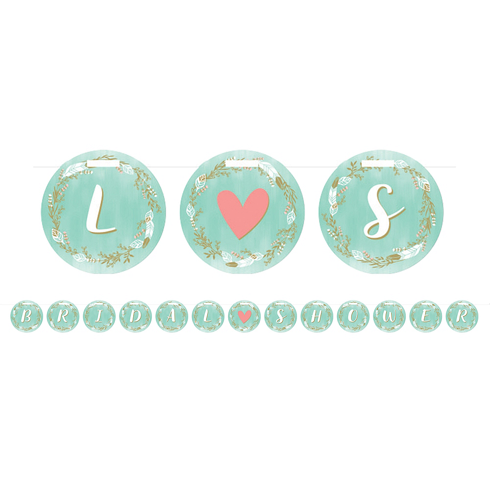 Mint to Be Bridal Shower Banner Image #1