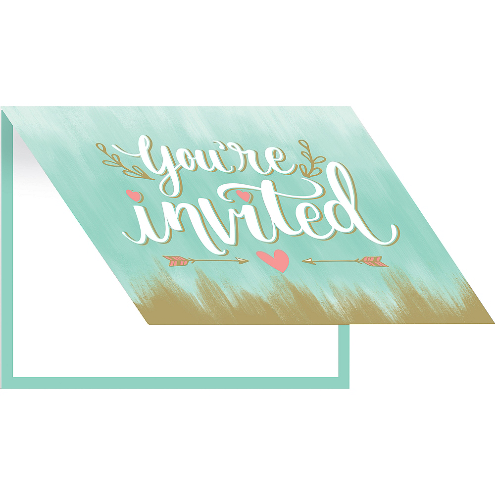 Mint to Be Invitations 8ct Image #1