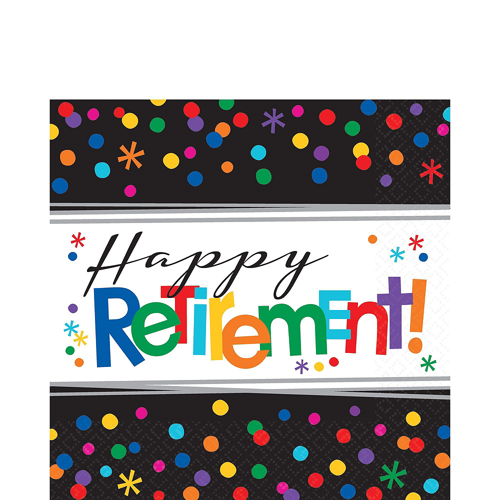 Happy Retirement Celebration Party Kit for 32 Guests Image #5