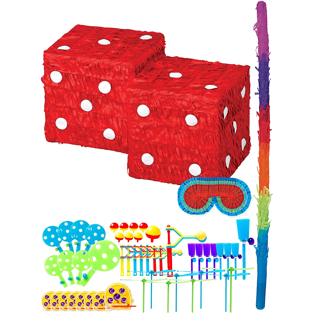 Dice Pinata Kit with Favors Image #1