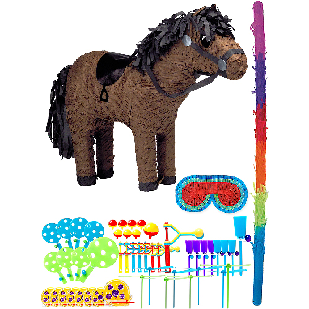 Horse Pinata Kit with Favors Image #1