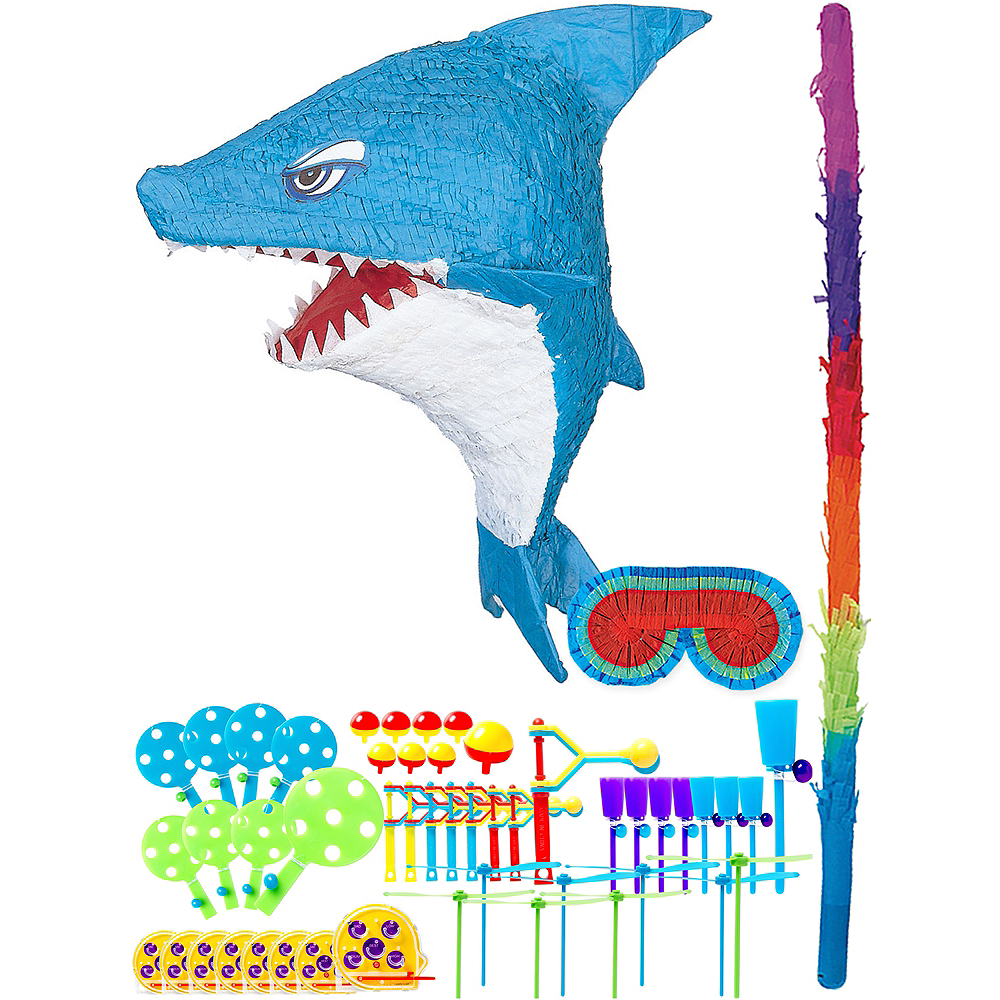 Nav Item for Shark Pinata Kit with Favors Image #1