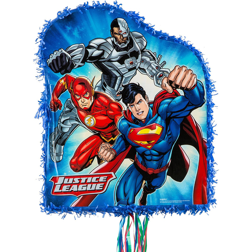 Nav Item for Justice League Pinata Kit with Favors Image #5