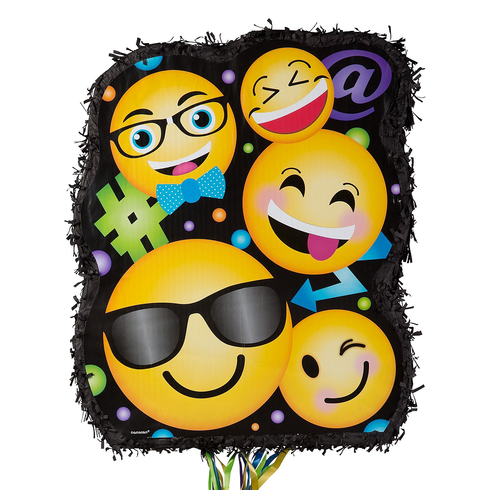 Smiley Pinata Kit with Favors Image #4