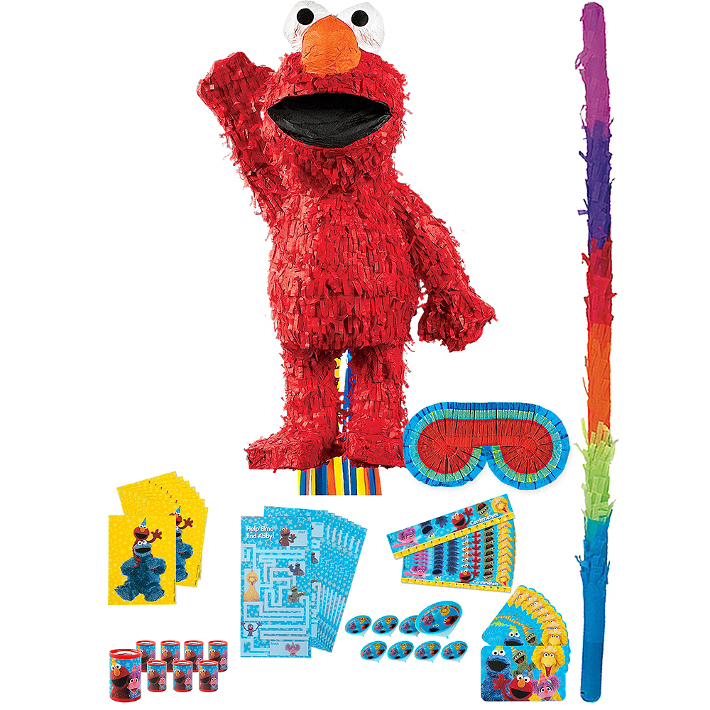 Elmo Pinata Kit with Favors Image #1