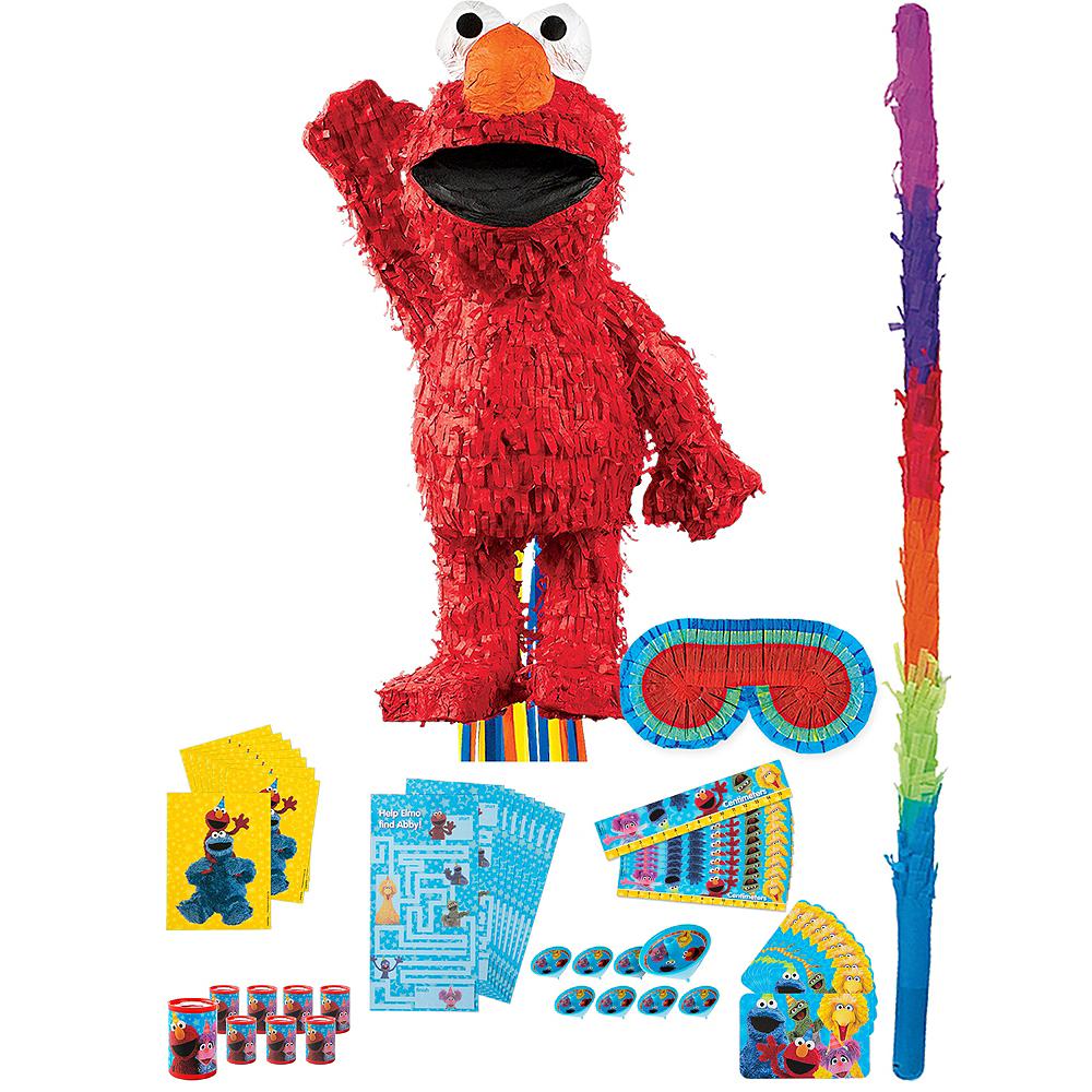 Elmo Pinata Kit with Favors Image #1