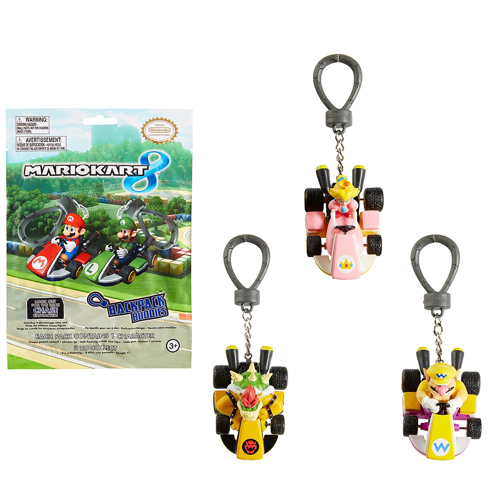 Clip-On Mario Kart Figurine Mystery Pack | Party City