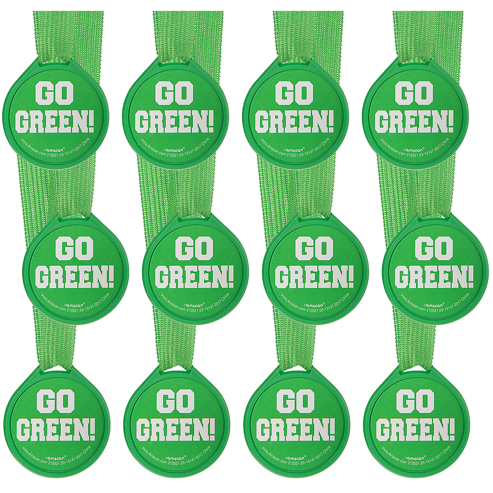 Go Green Award Medals 12ct Image #1
