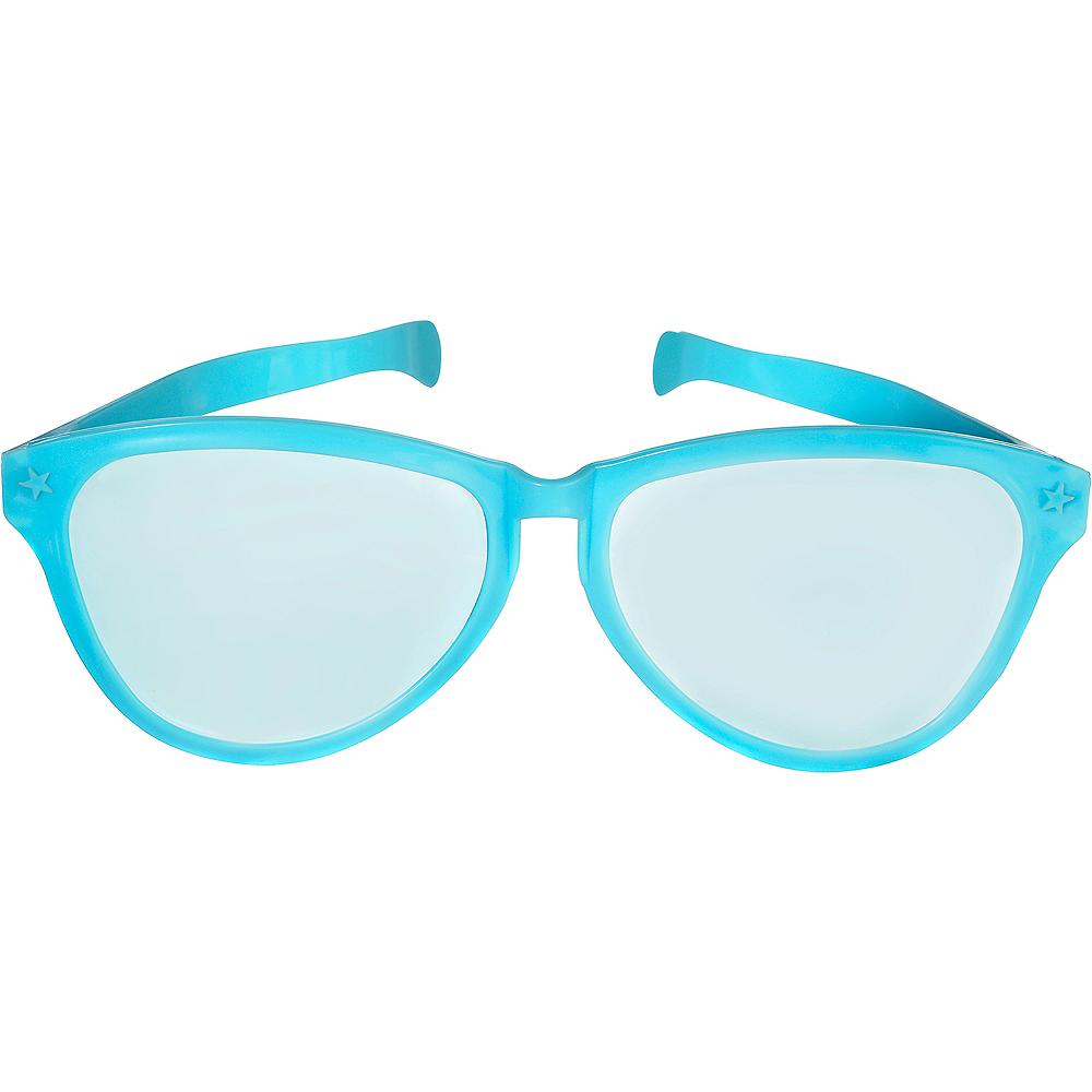 Giant Turquoise Sunglasses Image #1