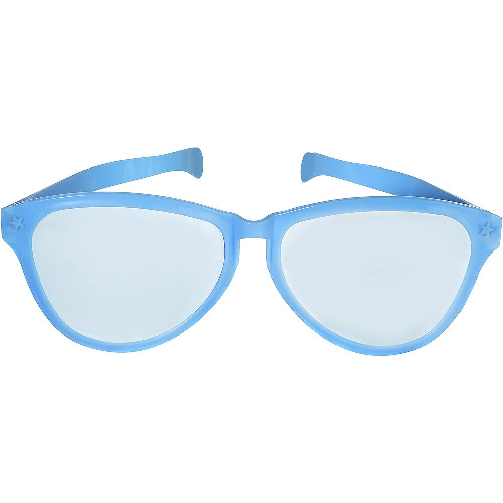 Giant Light Blue Sunglasses Image #1
