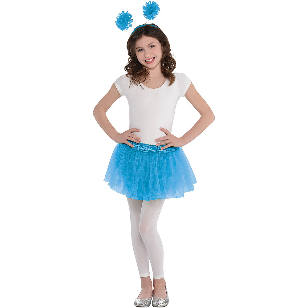 Child Light Blue Tutu Image #2