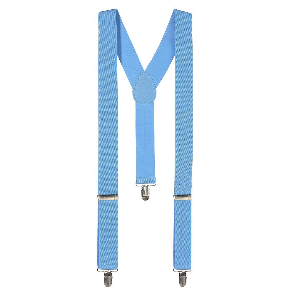 Light Blue Suspenders Image #1