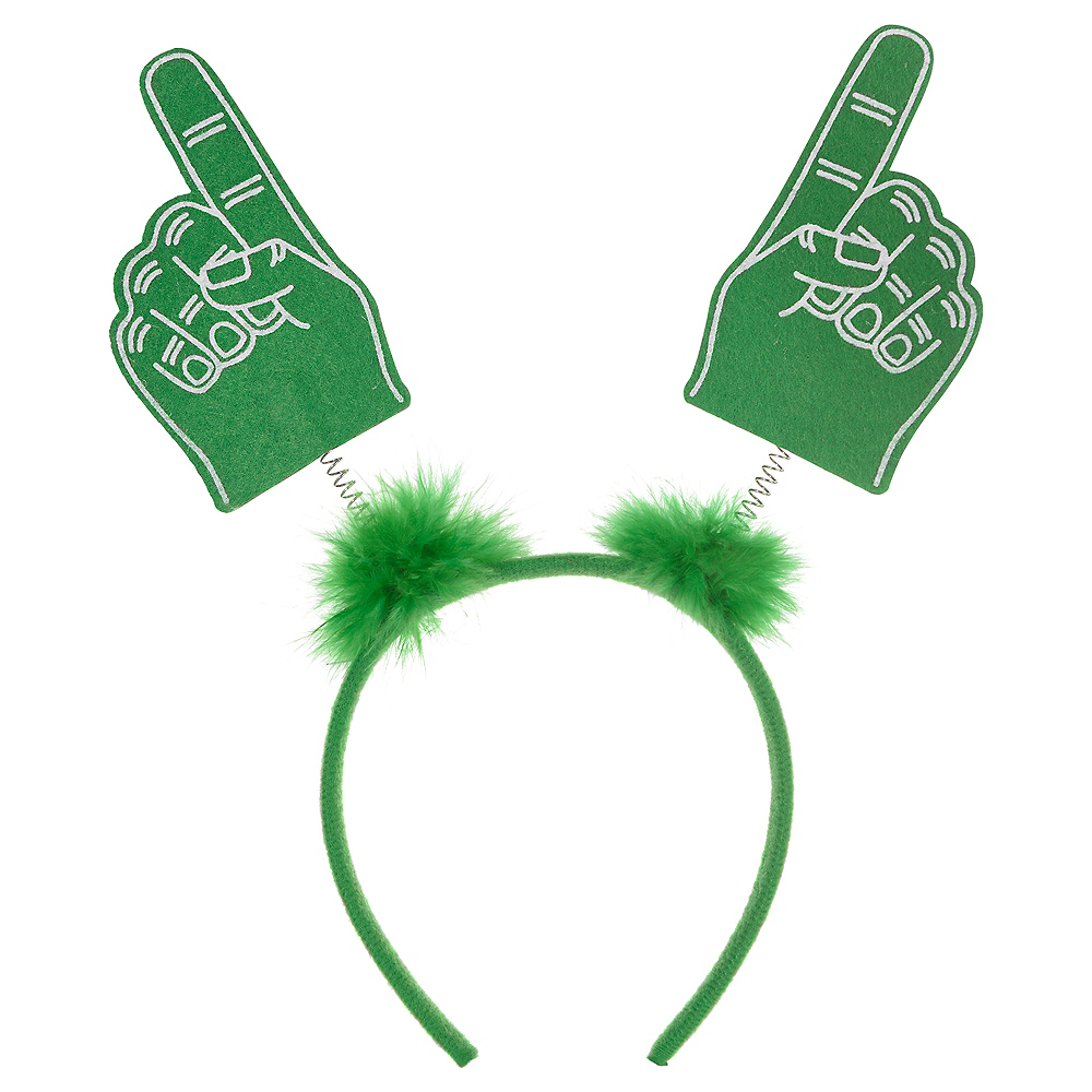 Green Finger Head Bopper Image #1