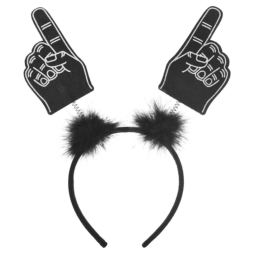 Black Finger Head Bopper Image #1