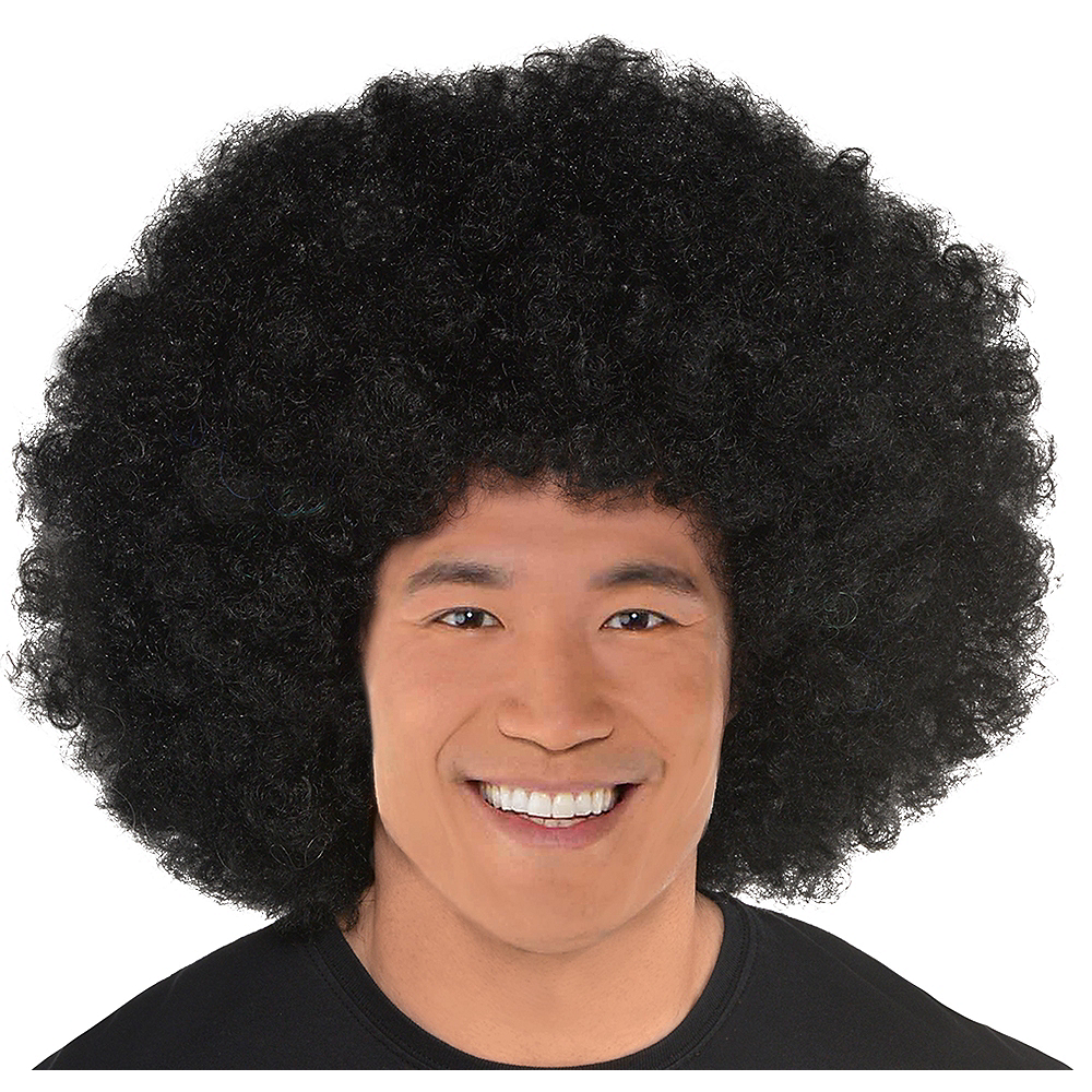 Giant Black Afro Wig Image #1