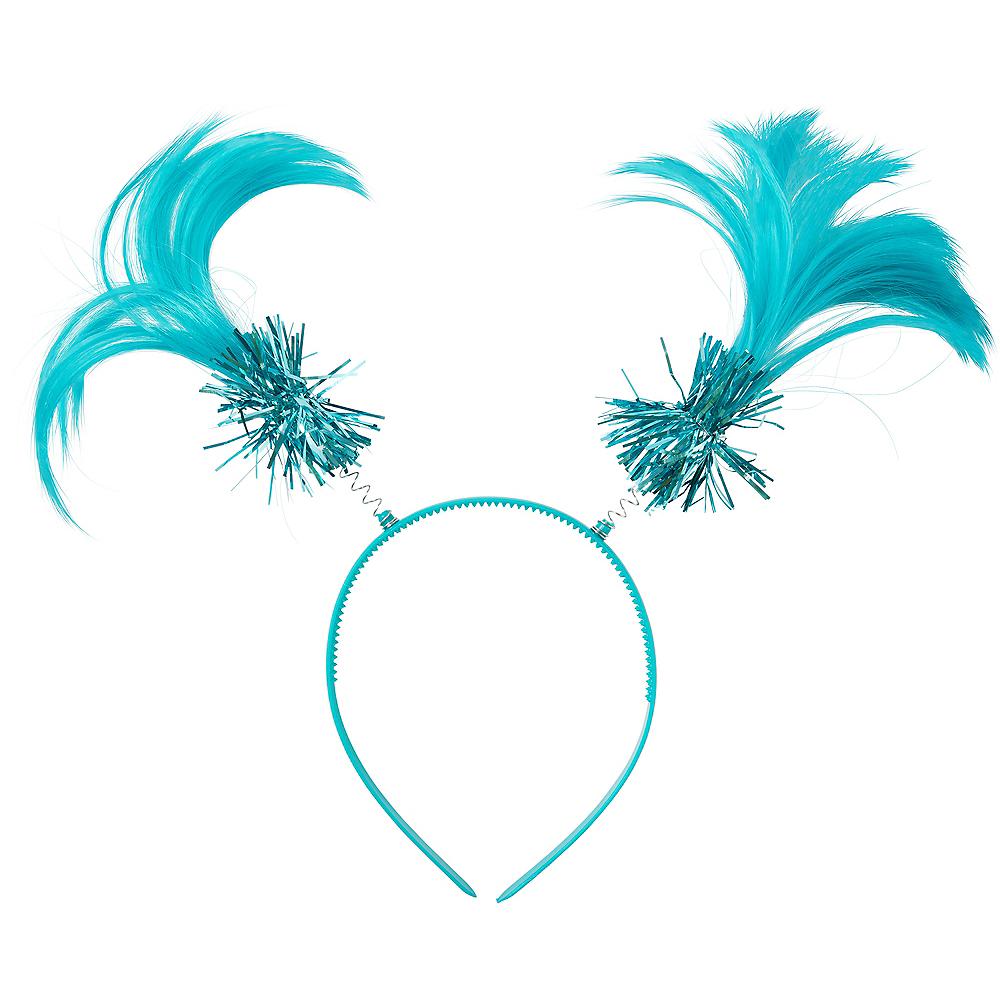 Turquoise Ponytail Head Bopper Image #1