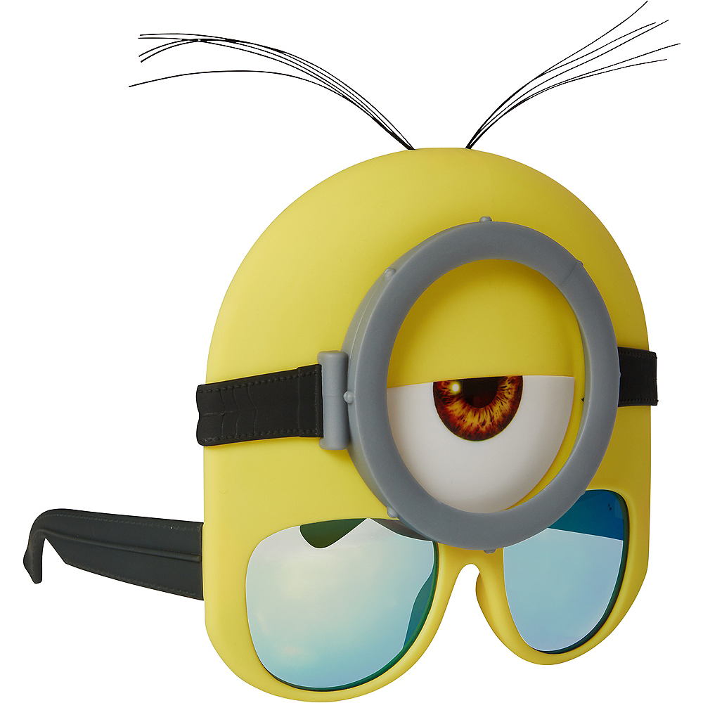 Stuart Minion Glasses - Despicable Me Image #2