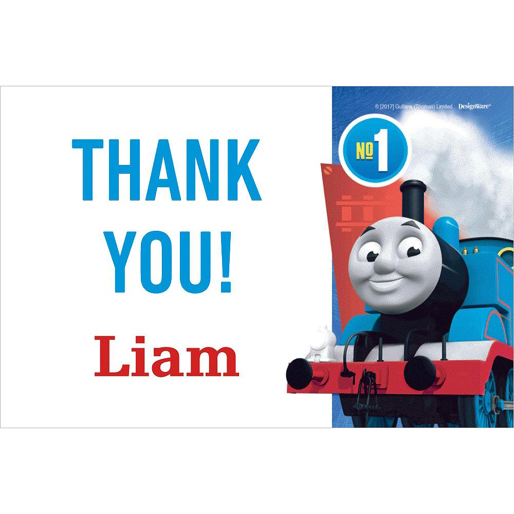 Custom Thomas the Train Thank You Notes | Party City