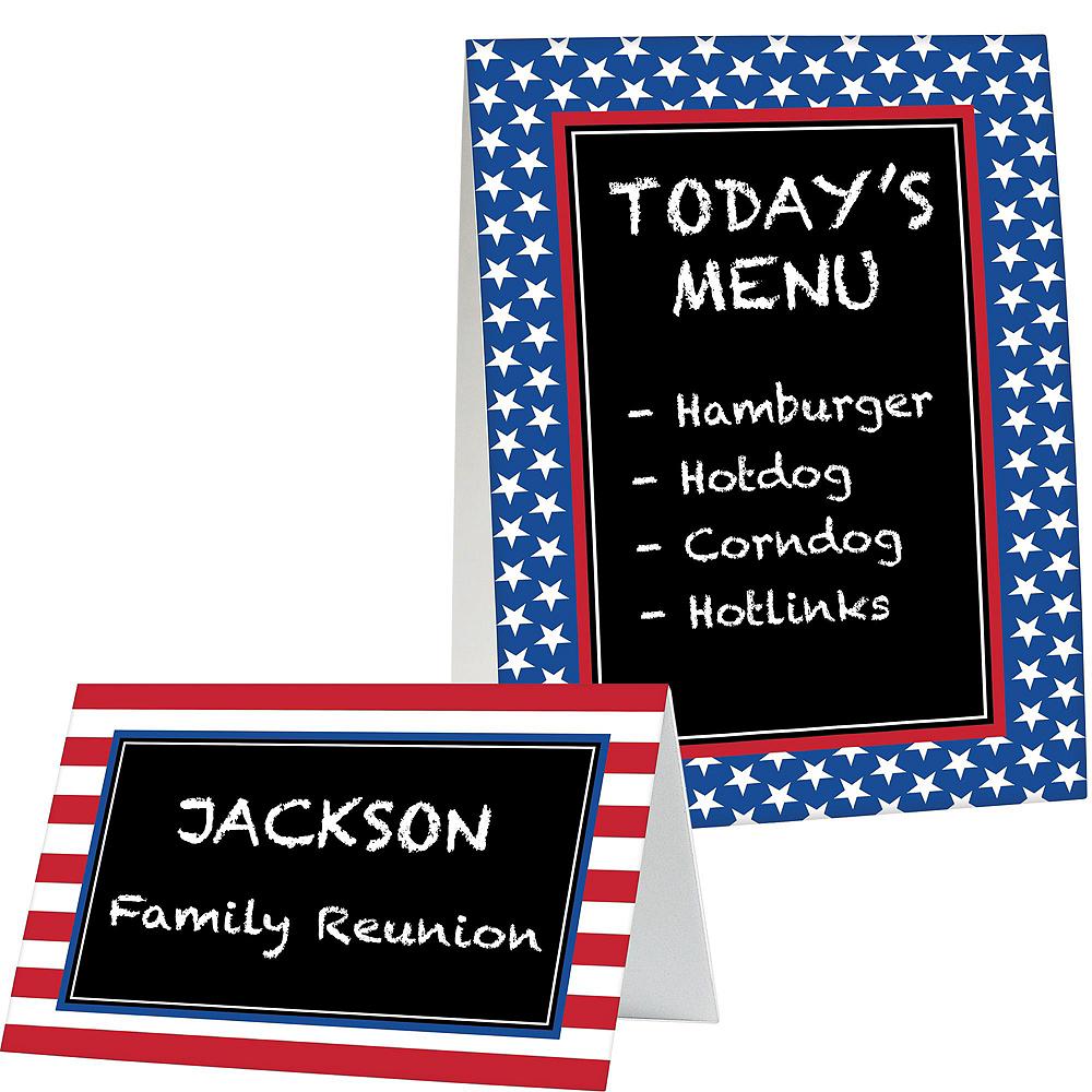 Patriotic Buffet Decorating Kit Image #3