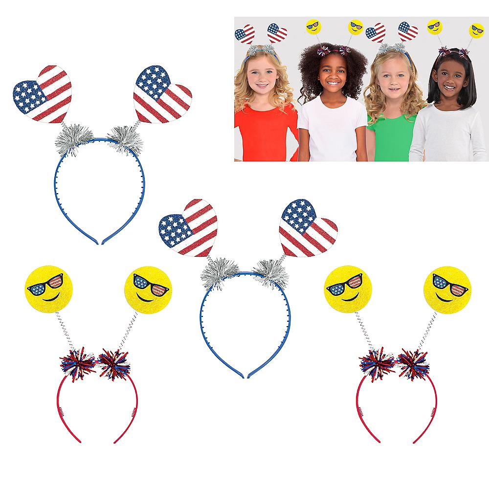 Patriotic Head Boppers 4ct Image #1
