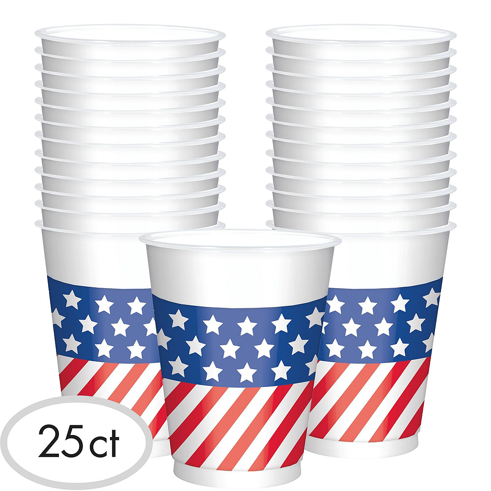 American Flag Drink Table Kit Image #2
