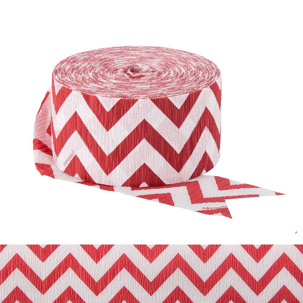 Red Polka Dot & Chevron Decorating Kit Image #3
