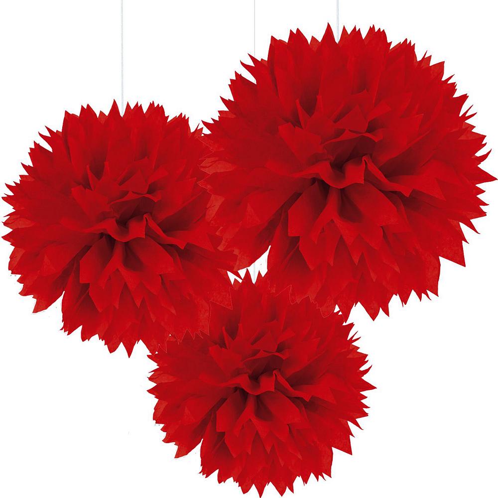 Red Polka Dot & Chevron Decorating Kit Image #5