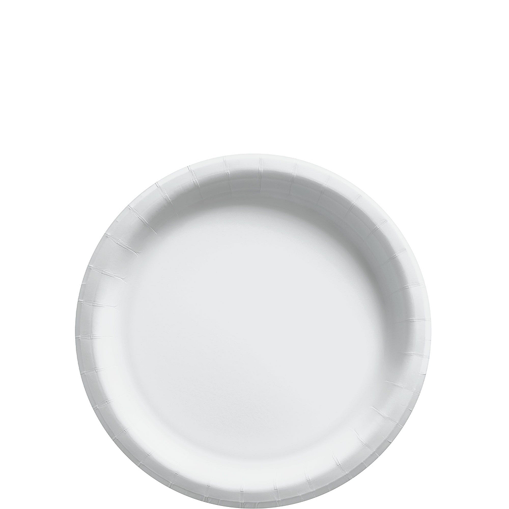 Nav Item for White Paper Tableware Kit for 50 Guests Image #2
